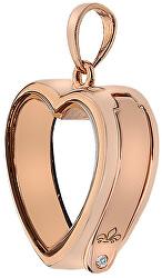 Prívesok na elementy Anais Srdce s diamantom EX002