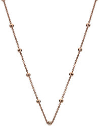 Rose vergoldete Silber Halskette Emozioni CH051