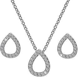 Sada strieborných šperkov Amulets SS137 (náhrdelník, náušnice)
