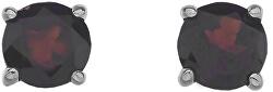 Strieborné náušnice Hot Diamonds Anais Granát AE001