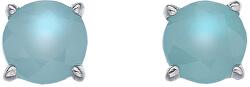 Stříbrné náušnice Hot Diamonds Anais modrý achát AE009