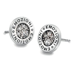 Stříbrné náušnice Hot Diamonds Emozioni Pianeta Clear DE402