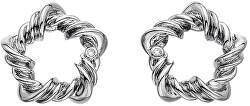 Stříbrné náušnice s diamanty Vine DE619