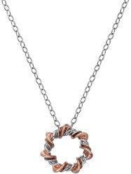 Stříbrný náhrdelník s diamantem Vine DP753