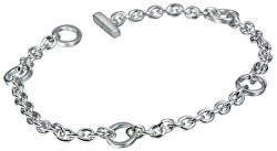 Strieborný náramok s diamantom Charm Elegance DL061