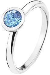 Emozioni Scintilla Blue Peace ezüst gyűrűER022