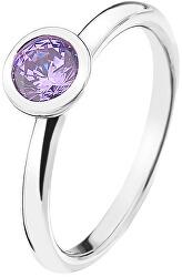 Emozioni Scintilla Lavender Calmness ezüst gyűrűER020