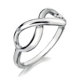 Ezüst gyűrű Hot Diamonds Infinity DR144