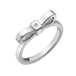 Ezüst gyűrűHot Diamonds Ribbon DR196
