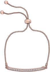 Štýlový náramok so zirkónmi a diamantom Crystal Clear DL517