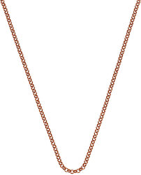 Stříbrný řetízek Emozioni Rose Gold Belcher 30 CH014