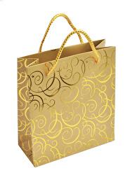 Zlatá dárková taška MV-5/AU