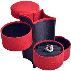 Červená cestovní šperkovnice SP-885/A10