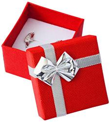 Červená krabička s mašlí ET-3/A7/Ag
