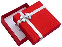 Červená krabička s mašlí na střední sadu ET-5/A7/Ag