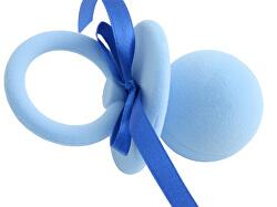 Modrá dárková krabička Dudlík FU-217/A13