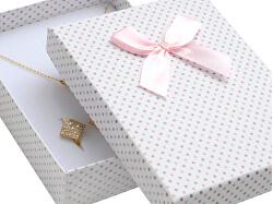 Puntíkatá krabička na soupravu šperků KK-8/A1/A6