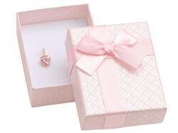 Růžová dárková krabička na šperky AT-6/A5