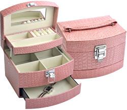 Růžová šperkovnice SP-304/A5/N