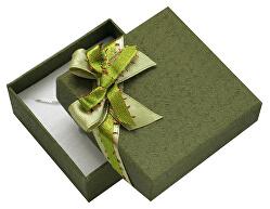 Zelená dárková krabička s mašlí GS-5/A19