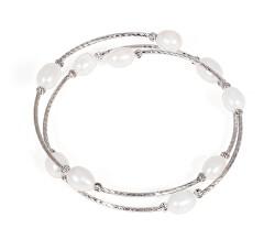 Náramek s pravými perlami JL0434