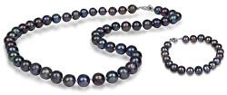 Zvýhodněná perlová souprava šperků JL0265 a JL0360 (náramek, náhrdelník)