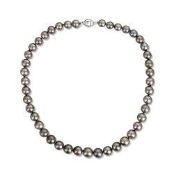 Luxusní náhrdelník s pravými černými tahitskými perlami JL0704 s 10letou zárukou