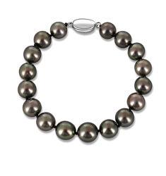 Luxusní náramek z tahitských černých perel JL0705 s 10letou zárukou