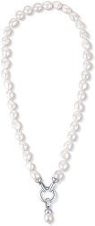 Náhrdelník z pravých bílých perel JL0559
