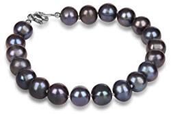 Náramek z pravých modrých  perel JL0360
