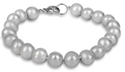 Náramek z pravých šedých perel JL0359
