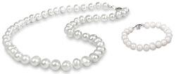 Zvýhodněná perlová souprava šperků JL0264 a JL0362 (náramek, náhrdelník)