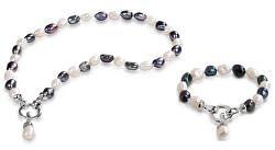 Zvýhodněná souprava šperků JL0316 a JL0317 (náhrdelník, náramek)