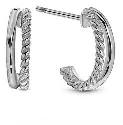 Cercei argintii eleganți cercuri SVLE0685XH20000