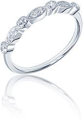 Elegantní stříbrný prsten SVLR0343XF3BI