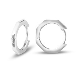 Jemné strieborné kruhové náušnice SVLE0595XH20000