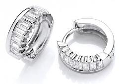 Cercei masivi din argint cercuri cu zirconii SVLE0590XH2BI00