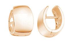 Minimalistické bronzové kruhové náušnice SVLE0962XH2RO00