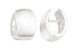 Minimalistické střibrné kruhové náušnice SVLE0962XH20000