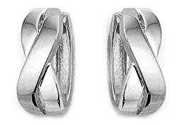 Minimalistické stříbrné náušnice SVLE0883XH20000