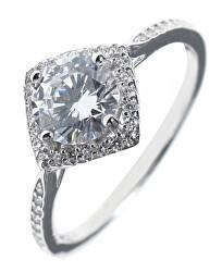Moderné strieborný prsteň so zirkónmi SVLR0331XH2BI