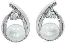 Nadčasové perlové náušnice SVLE0875XH2P100