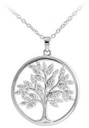 Ciondolo splendido in argento con zirconi Albero della vita SVLP0599XH2BI00