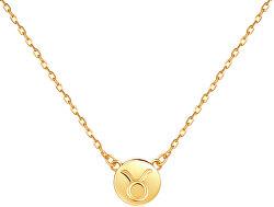Pozlacený náhrdelník s přívěskem Býk SVLN0165XF3GOBY