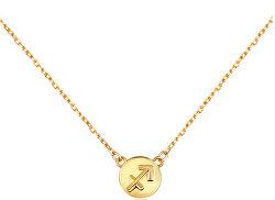 Pozlacený náhrdelník s přívěskem Střelec SVLN0165XF3GOST