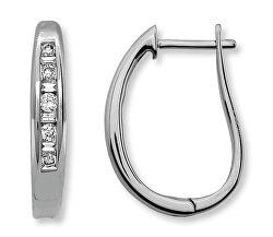Stříbrné náušnice s čirými zirkony SVLE0592XH2BI00