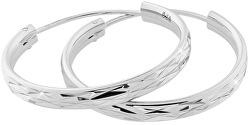 Stříbrné náušnice kruhy SVLE0205XD500