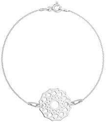 Ezüst karkötő mandala medállal SVLB0178XH20018