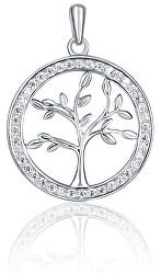 Stříbrný přívěsek s čirými zirkony Strom života SVLP0610XH2BI00