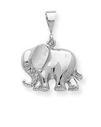 Stříbrný přívěsek Slon SVLP0683XH20000